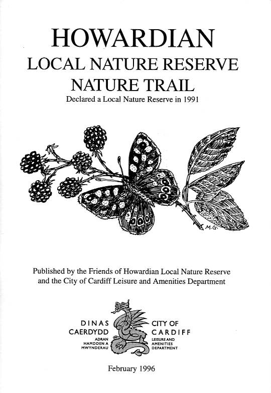 Howardian Local Nature Reserve   Nature Trail Booklet 1996 (English)